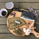 Snažan™️ Serbian Chef Knife + Shealth + Stone