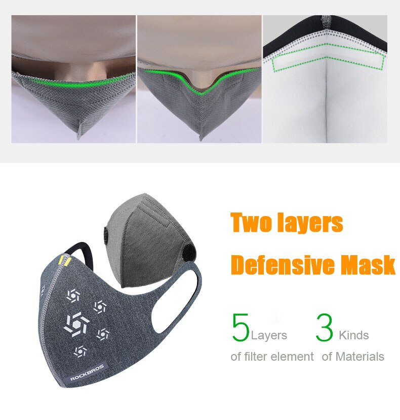 activated carbon mask n95